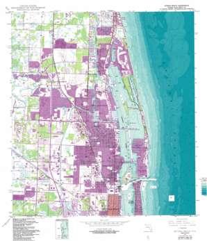 Riviera Beach USGS topographic map 26080g1