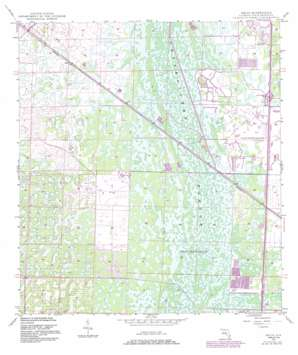 Delta USGS topographic map 26080g2