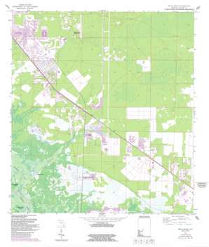 Belle Meade USGS topographic map 26081a6
