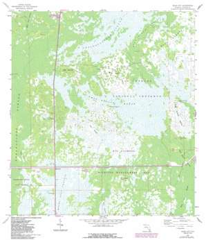 Miles City USGS topographic map 26081b3