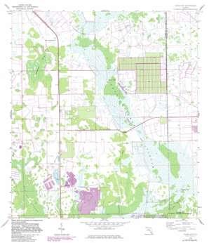 Sunniland USGS topographic map 26081c3
