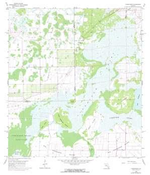 Corkscrew USGS topographic map 26081d5