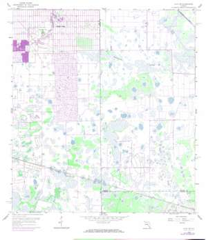 Alva Se USGS topographic map 26081e5