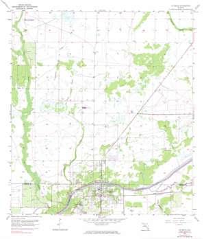 La Belle USGS topographic map 26081g4