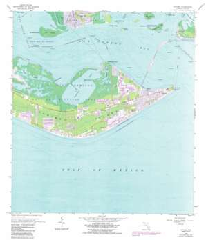 Sanibel USGS topographic map 26082d1