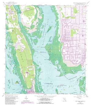Pine Island Center USGS topographic map 26082e1