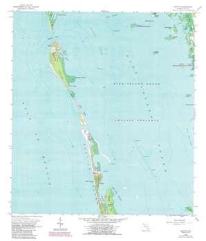 Captiva USGS topographic map 26082e2