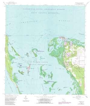 Bokeelia USGS topographic map 26082f2
