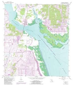 El Jobean topo map
