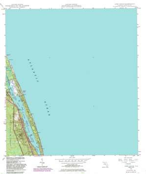 Hobe Sound USGS topographic map 27080a1