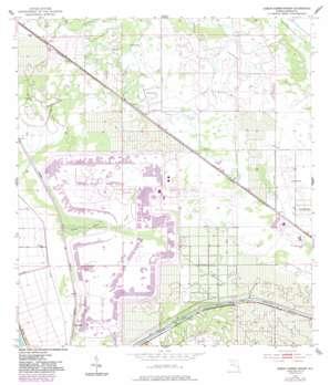 Okeechobee 4 Se USGS topographic map 27080a5