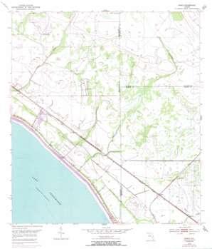Okeechobee 4 Nw USGS topographic map 27080b6