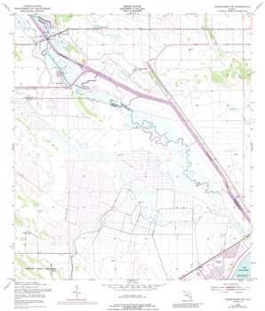 Okeechobee Nw USGS topographic map 27080b8