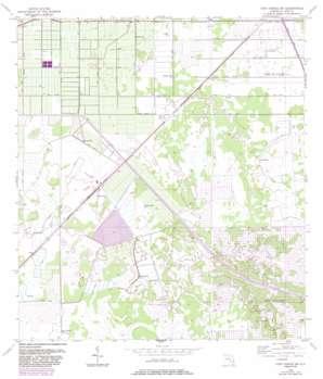 Fort Pierce Sw USGS topographic map 27080c4