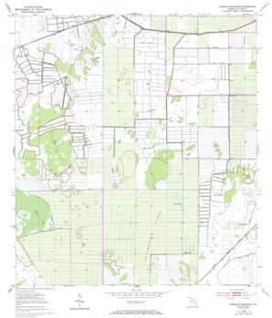 Okeechobee 1 Se USGS topographic map 27080c5