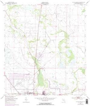 Taylor Creek Se topo map