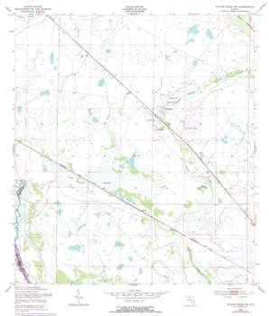 Taylor Creek Sw USGS topographic map 27080c8