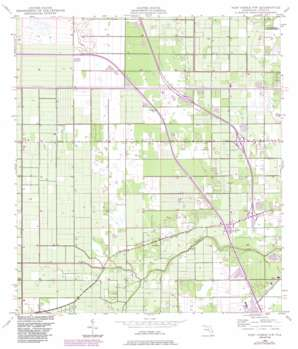 Fort Pierce NW USGS topographic map 27080d4