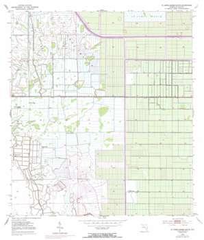 Okeechobee 1 Ne USGS topographic map 27080d5
