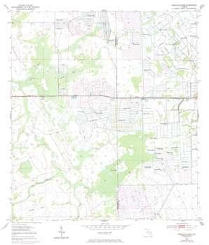 Okeechobee 1 Nw USGS topographic map 27080d6