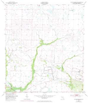 Taylor Creek Nw topo map