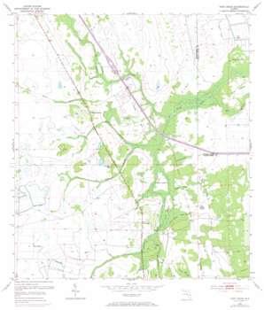 Fort Drum topo map