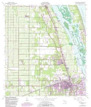 Vero Beach USGS topographic map 27080f4
