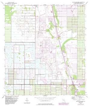 Fellsmere 4 Ne USGS topographic map 27080f5