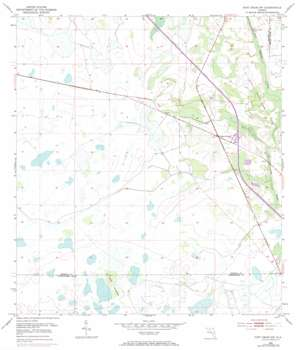 Fort Drum Nw topo map