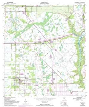 Fellsmere USGS topographic map 27080g5