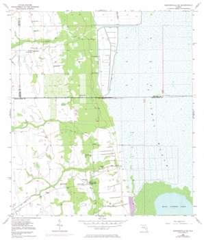 Kenansville Se USGS topographic map 27080g7