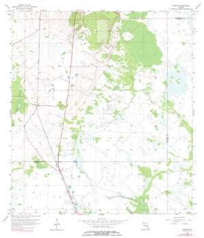 Venus USGS topographic map 27081a3