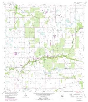 Arcadia Se USGS topographic map 27081a7