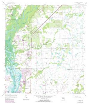 Fort Ogden USGS topographic map 27081a8