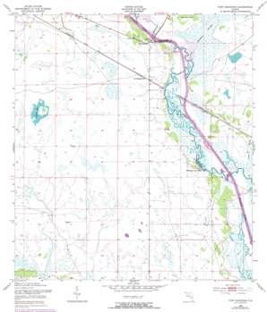 Fort Basinger USGS topographic map 27081c1