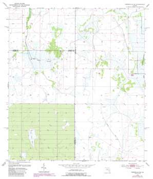 Crewsville Se USGS topographic map 27081c5