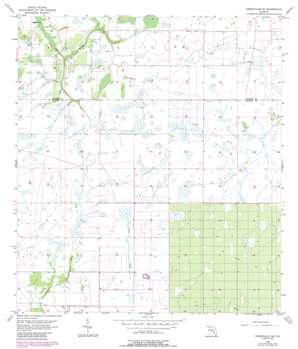 Crewsville Sw topo map