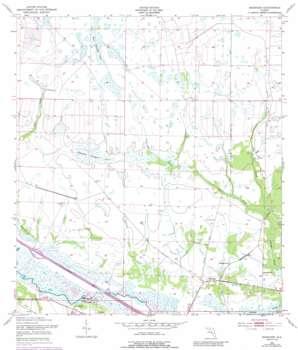 Basinger USGS topographic map 27081d1