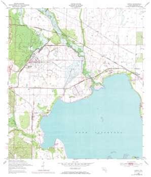 Lorida topo map