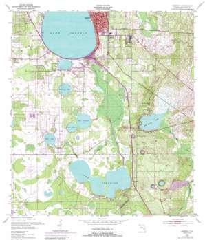 Sebring USGS topographic map 27081d4