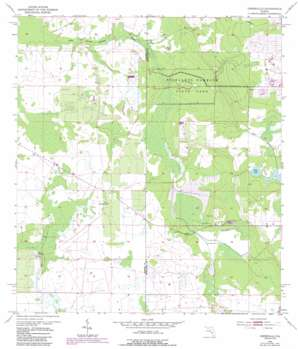 Crewsville USGS topographic map 27081d5