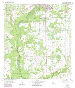Zolfo Springs USGS topographic map 27081d7