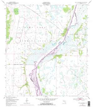 Fort Kissimmee USGS topographic map 27081e2