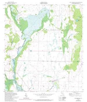 Lake Arbuckle Se topo map