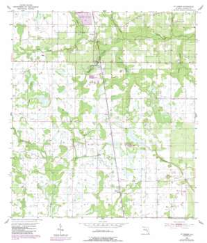 Fort Green USGS topographic map 27081e8