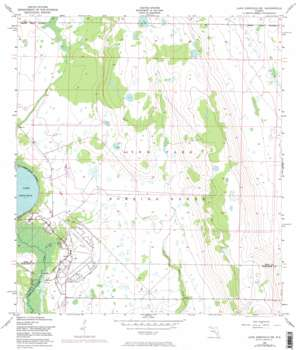 Lake Arbuckle Ne topo map