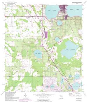 Frostproof USGS topographic map 27081f5