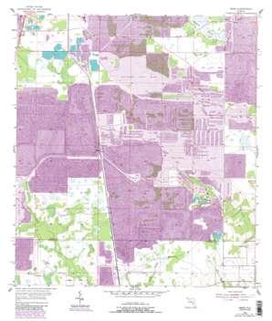 Baird USGS topographic map 27081f8