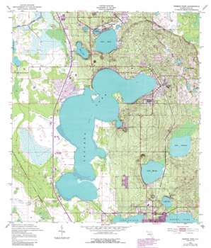 Babson Park USGS topographic map 27081g5