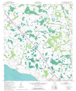 Lake Marian Ne USGS topographic map 27081h1